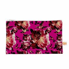 "Shirlei Patricia Muniz ""Floral"" Magenta Photography Everything Bag"