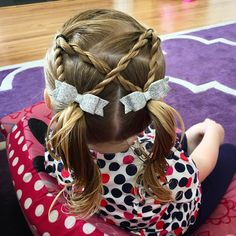 nice 45 Cute Ideas on Braids For Girls - Sweet and Stylish Check more at http://newaylook.com/best-braids-for-girls/