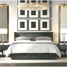 Luxury Bedding Ideas For Your Master Bedroom That Will Make You Comfortable Grey Bedroom Decor, Grey Bedroom Furniture, Modern Master Bedroom, Master Bedroom Design, Trendy Bedroom, Bedroom Ideas, Blue Bedroom, Bedroom Designs, Luxury Furniture