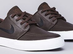 Nike SB Stefan Janoski Leather - Baroque Brown - Black