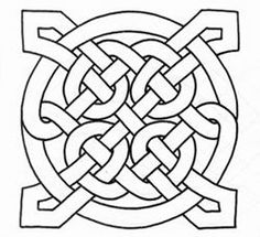 Celtic knotwork coloring pages Celtic Quilt, Celtic Symbols, Celtic Art, Celtic Knots, Celtic Crosses, Celtic Circle, Colouring Pages, Coloring Books, Embroidery Patterns