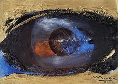 Senza Titolo (2003) : oil on paper / huile sur papier / olio su carta, 21x30cm ©RobertoMangú #oil #painting #art #Mangu