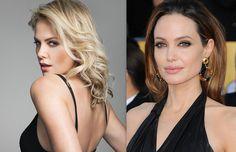 Charlize Theron e Angelina Jolie in 50 Sfumature di Nero