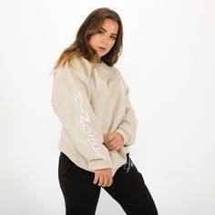 ONLY AVAILABLE FOR A LIMITED TIME! The Tessa Brooks Mindset crewneck sweater is finally here! Get the look before it's gone.  Additional info: Sweater size char