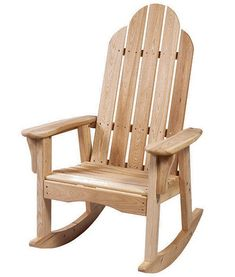 Superior качалка для дачи. Adirondack ChairsAdirondack Rocking ChairAdirondack FurnitureOutdoor  FurnitureRocking Chair PlansRocking ...