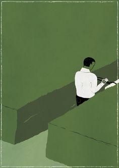 "jedavu: ""Creative illustrations from Luca Di Battista """