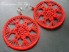 -sobota 27 czerwca 2009 panoramalesage poleć znajomemu śledź ... Granny Square Crochet Pattern, Crochet Motif, Crochet Designs, Thread Crochet, Crochet Yarn, Crochet Flowers, Crochet Rings, Tatting Jewelry, Crochet Keychain