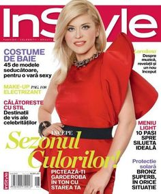Magazine photos featuring Loredana Groza on the cover. Loredana Groza magazine cover photos, back issues and newstand editions. Instyle Magazine, Magazine Covers, Romania, June, Costume, Fancy Dress, Costumes, Costume Dress