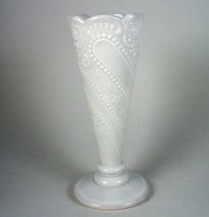 Vintage milk glass.  Perfection