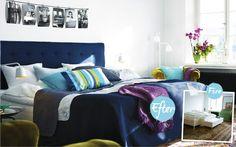 Bygg din egen sänggavel Comforters, Blanket, Bed, Inspiration, Furniture, Home Decor, Creature Comforts, Biblical Inspiration, Quilts