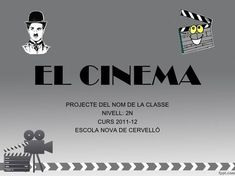 Projecte cinema Cinema, Stop Motion, Teaching English, Theatre, Hollywood, Culture, Film, Movie Posters, Movies