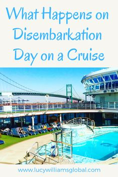 What happens on disembarkation day on a cruise? This is the day you leave the cruise ship and is very different to leaving a hotel. Cruise Packing Tips, Cruise Travel, Cruise Vacation, Solo Travel, Travel Usa, Travel Tips, Travel Hacks, Travel Guides, Disney Vacations