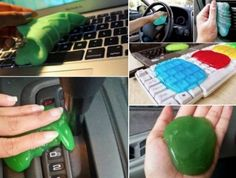 Homemade Cleaning Slime