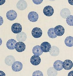 I love this stamp pattern. It has a Japanese indigo print feel to it.