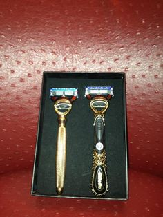 Check out Ryan Lochte's gold plated and diamond ravors...