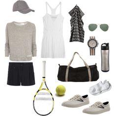 Tennis fashion. #tennisplanet.com