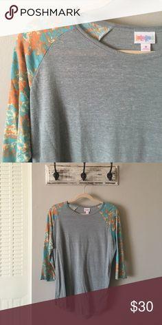 Medium Buttery Soft Lularoe Randy Tee! Beautiful only worn once lularoe Randy T! LuLaRoe Tops Tees - Long Sleeve