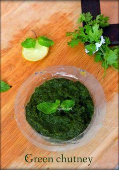 Green chutney for chaats http://www.upala.net/2015/04/green-chutney-for-chaatsmint-coriander.html