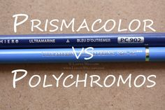 Prismacolor VS Polychromos: Lets compare! — Lianne Williams. Colour pencil techniques and tutorials. #color #colorpencil