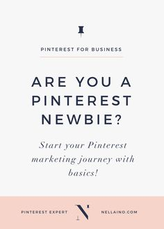 Learn how you can start using Pinterest for marketing in an effective way even if you a total Pinterest beginner. Read my Pinterest tips: www.www.nellaino.com.com/blog #pinteresttips #pinterestmarketing #www.nellaino.com #pinterestaccount #bloggersonpinterest Business Marketing, Social Media Marketing, Online Business, Marketing Strategies, Email Marketing, Digital Marketing, Mobile Marketing, Marketing Ideas, Content Marketing