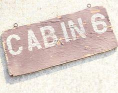 Vintage camp signs – Etsy