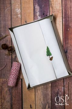 Christmas Gift Wrapping Ideas | white tissue paper inside the box is a must! | diy inspiration