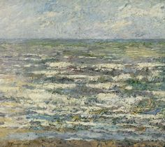 De zee bij Katwijk, Jan Toorop, , 1887