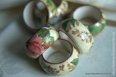 Napkin rings. Кольца для салфеток