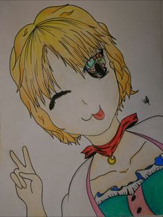 Hello~ I tried To make a cute girl... I hope You like it! ♡😄