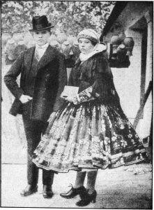 Bridal Pair From the Sarkoz District