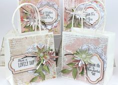 42 x Assorted Blissful Die Cut Messages Anna Marie Designs