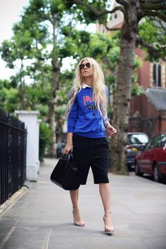 RIKA sweaterZARA shortsALEXANDER WANG shoesPRADA sunglassesCASIO watch KAREN LONDON ringALEXANDER WANG bagMARIMEKKO phonecase (image:5inchandup)