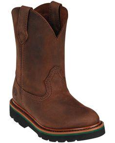 John Deere Child's Classic Pull-On Boot - Gaucho