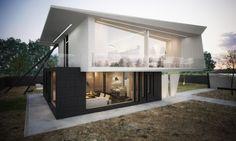 La casa M un Proyecto moderno y atrevido por Marcel Luchian | Decoration Digest