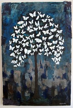 Butterfly tree by Rebecca Rebouche