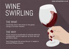 The Importance of Swirling Wine.  #swirl #sip #wine #winetime #vino #wines #aroma #lovewine #wineaddict #foodandwine #friendswine #drinkwine #winemoment #tradition #goodwine #winevariety #winebottle