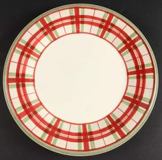 Entertain, gather, and turn your house into a home that's undeniably yours with the Holiday Gatherings Plaid Dinner Plate by Lenox. 70 Inch Round Tablecloth, Christmas Dinnerware, Pattern Code, Solid Background, Salt And Pepper Set, Cup And Saucer Set, China Dinnerware, Glass Domes, How To Take Photos