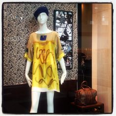 Antoni and Alison, love the playful digital print dresses!