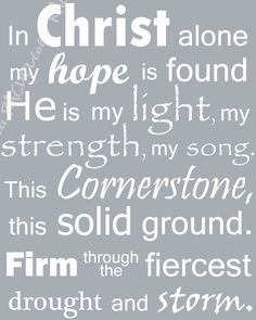 What heights of love what depths of peace when fears are stilled when strivings cease. My comforter my all in all here in the love of Christ I live.