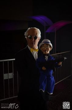 Ventriloquist & Scarface Cosplay by Trinity All-Stars - Photo by © Mike Tuffley Photography