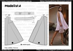 55 Ideas sewing tutorials for women diy dress patterns Dress Sewing Patterns, Sewing Patterns Free, Sewing Tutorials, Clothing Patterns, Costura Fashion, Sewing Blouses, Corset Pattern, Modelista, Schneider