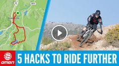 Watch: 5 Hacks To Ride Your Mountain Bike Further https://www.singletracks.com/blog/mtb-videos/watch-5-hacks-to-ride-your-mountain-bike-further/
