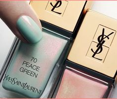 YSL 2016SS nail collection ♥