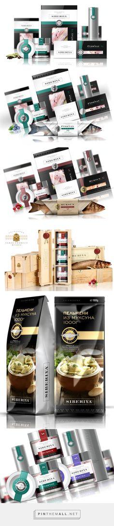 SIBERIYA #fish #packaging designed by Brandveel - http://www.packagingoftheworld.com/2015/06/siberiya.html