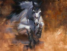 Equestrian Breakthrough by JenBrandonStudio on Etsy