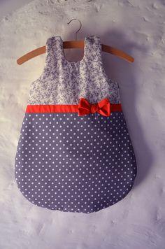 SUR COMMANDE Gigoteuse bébé fille 0/6 mois - Collection AdaChiK : Mode Bébé par shanouk