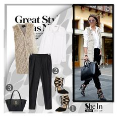 """""""SHEIN 9"""" by melisa-j ❤ liked on Polyvore featuring H&M, VILA and shein"""