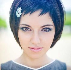 Short Hairstyles with Bangs | http://www.short-haircut.com/short-hairstyles-with-bangs.html