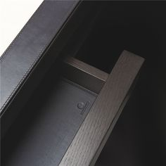 embossed leather drawer