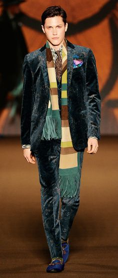 Etro Man Autumn Winter 2012-13 Runway Show